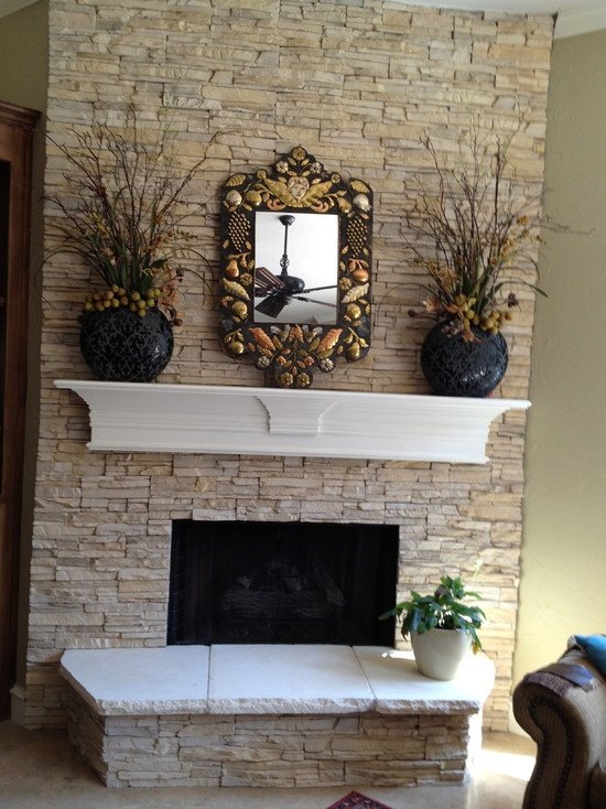 Best 25 Faux Stone Fireplaces Ideas On Pinterest Diy