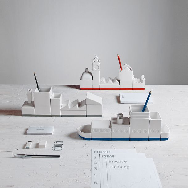 Desktructure The City - these are so cool. I'd just want to play with them.