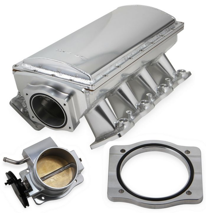 Motor'n | Holley Releases Sniper EFI Race Fabricated Intakes & Throttle Bodies