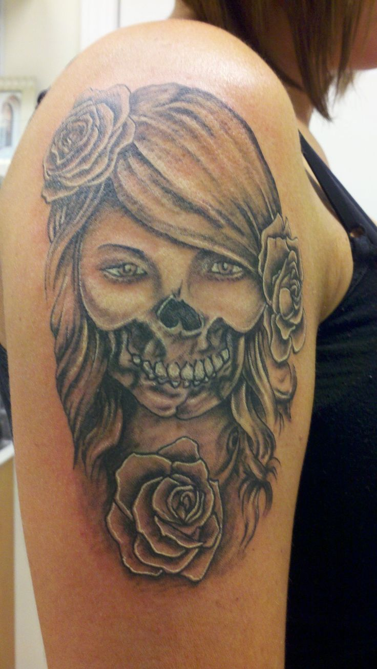Day Of The Dead Women Tattoos Cool Tattoos Designs Day