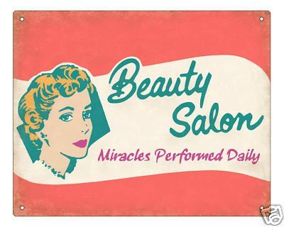 vintage painted signs beauty parlor | Ellen Dugan's Blog of Witchery: Looking for my Inner Goddess