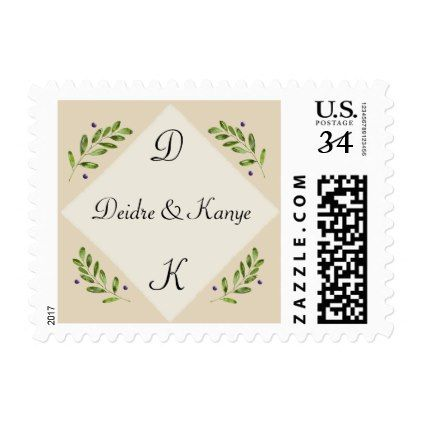 #wedding #thankyoucards - #Botanical Wedding Save the Date RSVP Postcard Postage