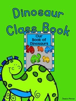Dinosaur Class Book- Our Book of Dinosaurs