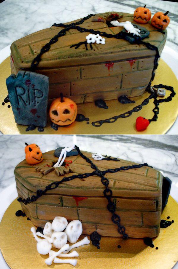 best 20 halloween cakes ideas on pinterest bloody halloween halloween birthday cakes and vampire party - Halloween Cake Decorating