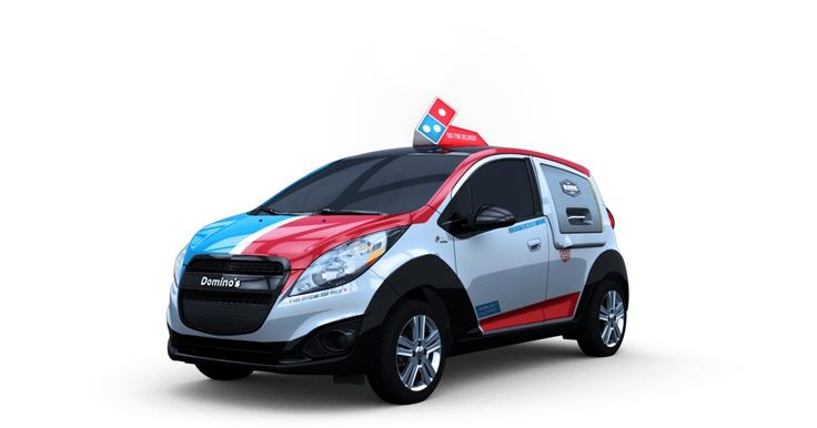 Domino's Built a Futuristic Delivery Car That Has Its Own Oven -- Grub Stree.