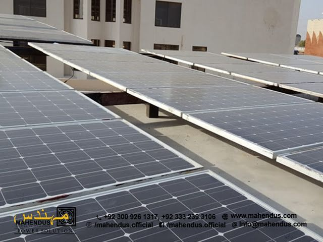 Masjid Abu Bakar Port Qasim Masjid Solar Panel Installation Roof Solar Panel