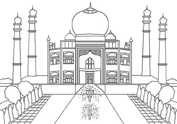 Mosquée coloriage islam | Ressource modèle creatif ...