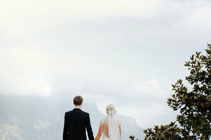 bride and groom, Jeff & Suzanne - 24th May 2014 - Ravello - Amalfi Coast - La Dolce Vita