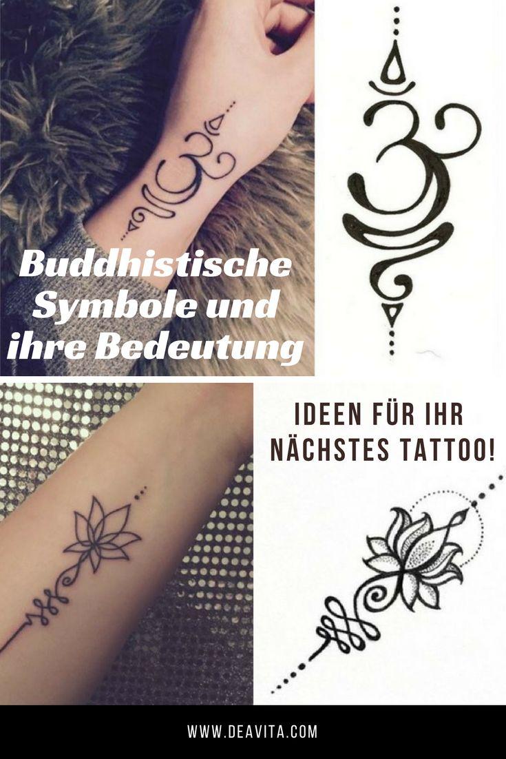 Pin eulen tattoo bedeutungen f on pinterest - Da Buddhistische Symbole Eine Starke Bedeutung In Sich Tragen Eignen Sie Sich Perfekt Als Motiv