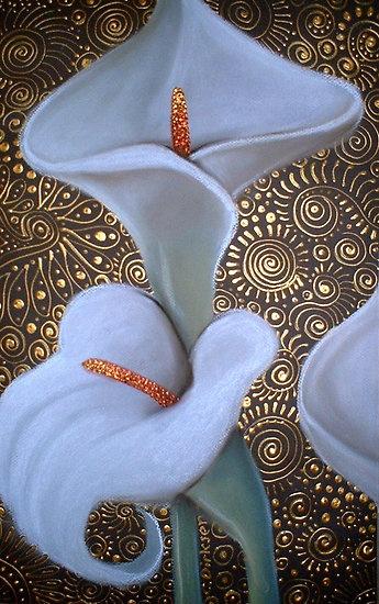 Arum Lily Duet by Cherie Roe Dirksen (www.cherieroedirksen.com)