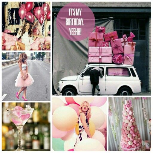 It's my birthday today, yeeaahh! #moodboard #mosaic #collage #inspirationboard #byJeetje ♡