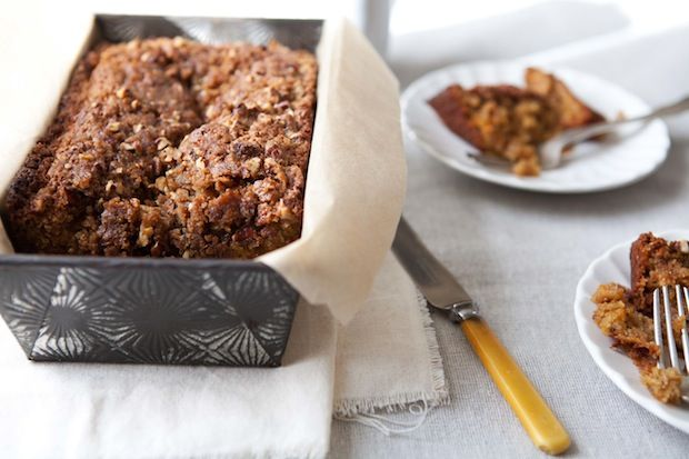 ... .com/blog/9122-applesauce-carrot-bread-with-pecan-streusel. #Food52