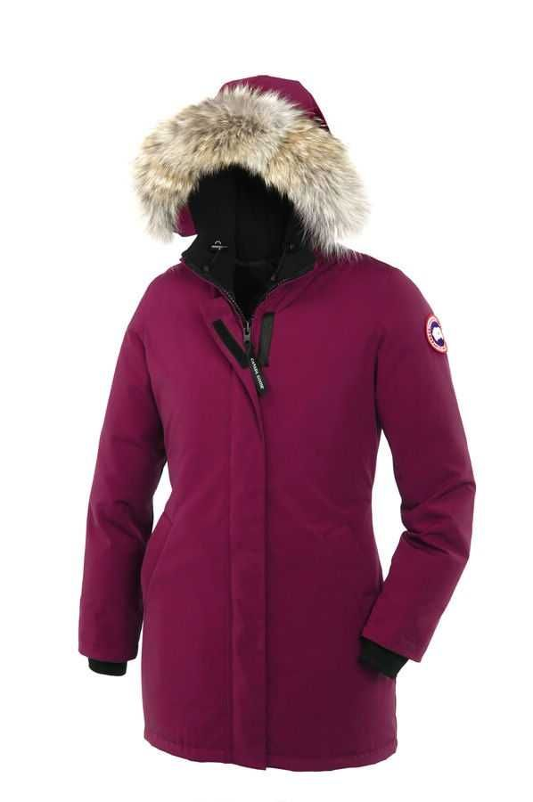 Canada Goose Victoria Parka Berry For Women