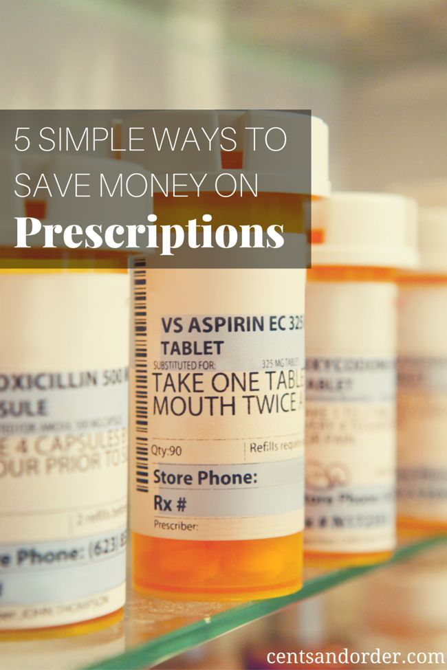 5 Ways To Save Money On Prescriptions