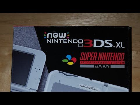 Unboxing the New 3DS XL SNES edition! - YouTube