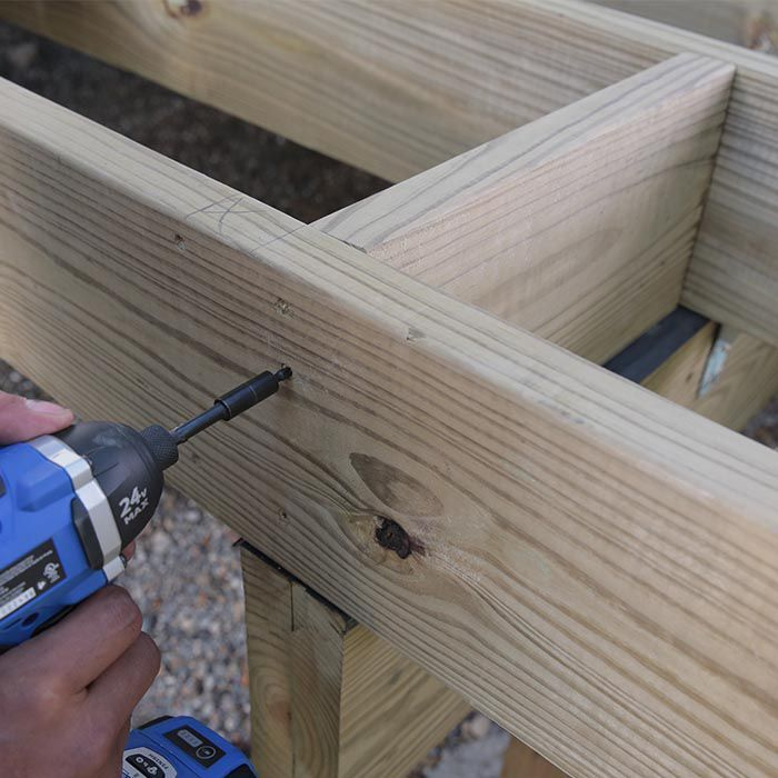 How To Build A Deck Composite Decking And Deck Railings Building A Deck Composite Decking Deck Railings