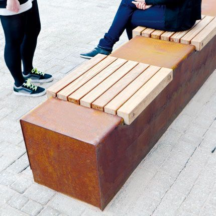 Streetlife Solid Seat Strips Using With The Corten Seat