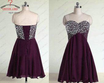 17 Best ideas about Dark Purple Prom Dresses on Pinterest | Modest ...
