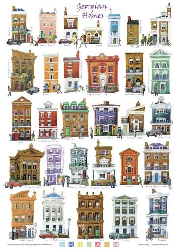 tall houses