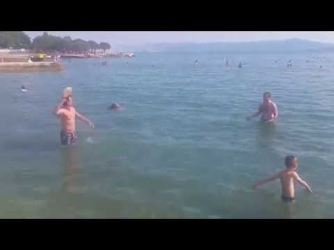 Bosnian guys playing Frisbee. - YouTube.   this is definitely not how you play Frisbee lol