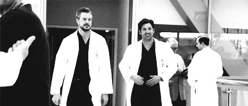There was the bromance he had with Mark Sloan.