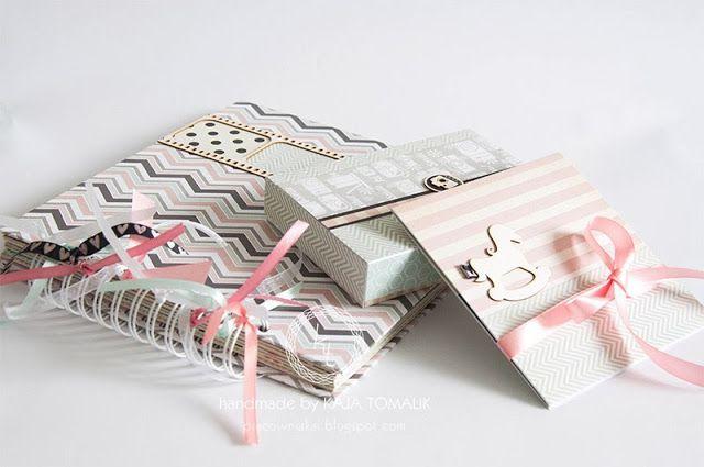 album, pudełko na zdjęcia i folder na płytę CD