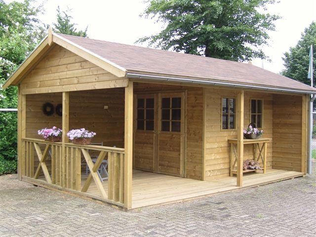veranda tuinhuis google zoeken - Garden Sheds With Veranda
