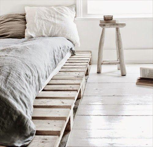 34 όμορφα κρεβάτια απο παλέτες! | Φτιάξτο μόνος σου - Κατασκευές DIY - Do it yourself