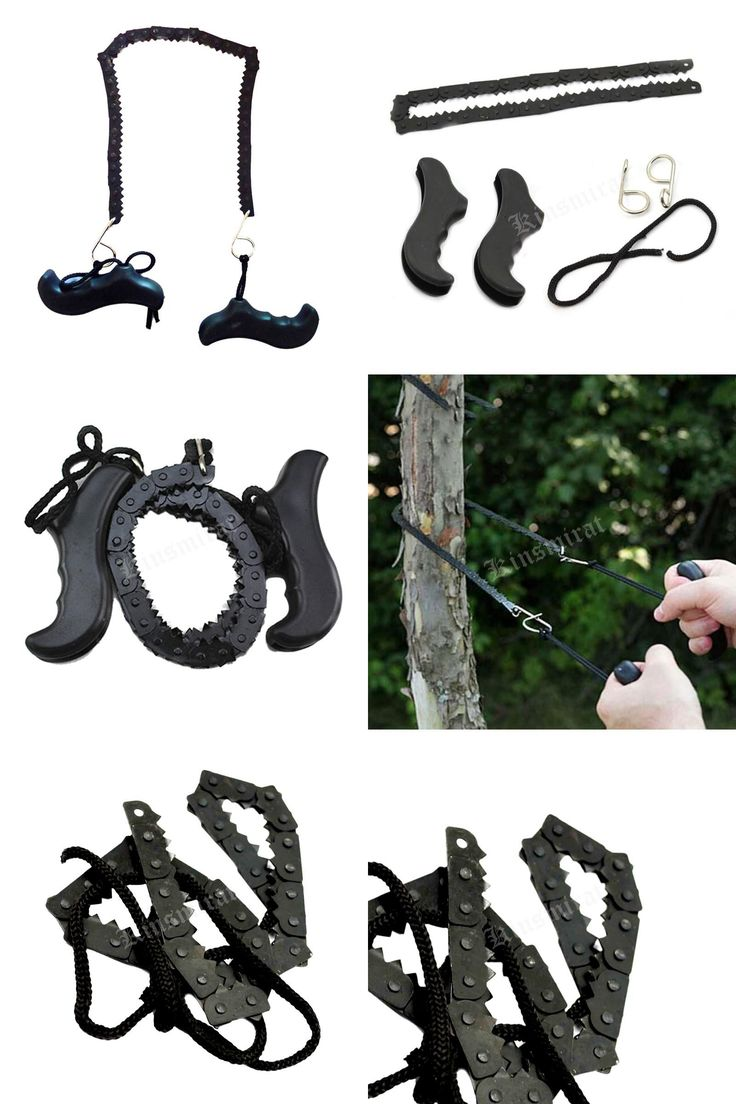 [Visit to Buy] Pocket Chain Saw Hand Saw Chain Outdoor Survival Tool Camping & Hiking Supplies Factory Price #Advertisement