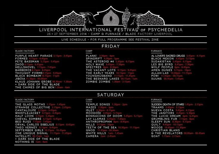 Image result for liverpool international festival of psychedelia