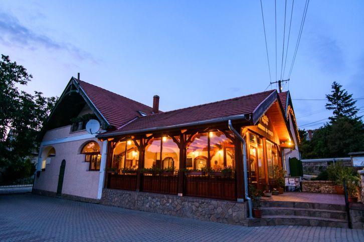 Szentantalfa - Zsóka Fogadója Fiatal séf, nagyszerű étlap.