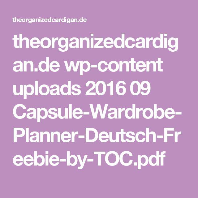 theorganizedcardigan.de wp-content uploads 2016 09 Capsule-Wardrobe-Planner-Deutsch-Freebie-by-TOC.pdf