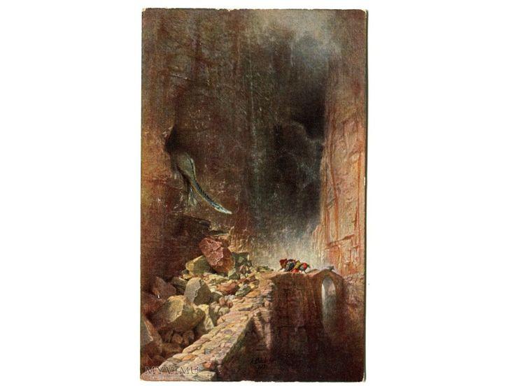 Arnold Böcklin Smok Smoczy...  w Pocztówki Artystyczne w MyViMu.com