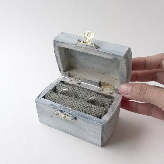 14 best ring bearer box images on pinterest ring bearer box sale rustic ring bearer box wedding ring box treasure chest ring box wedding junglespirit Image collections