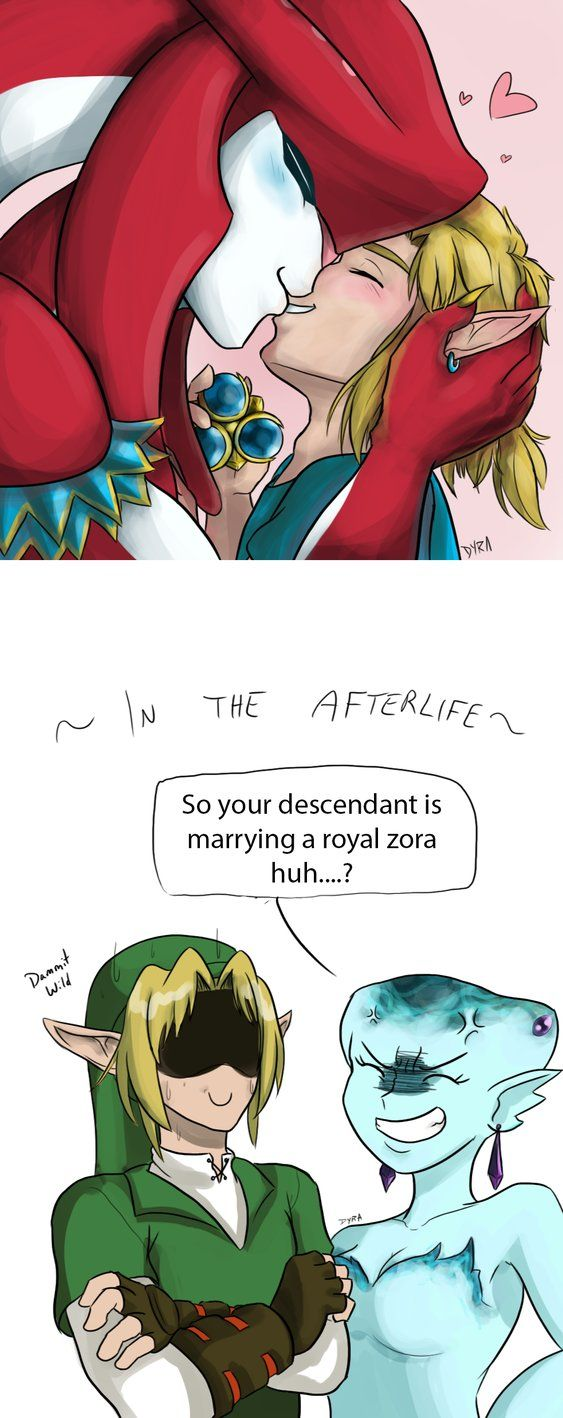 BOTW - Sidlink - Marriage by DyraDoodles