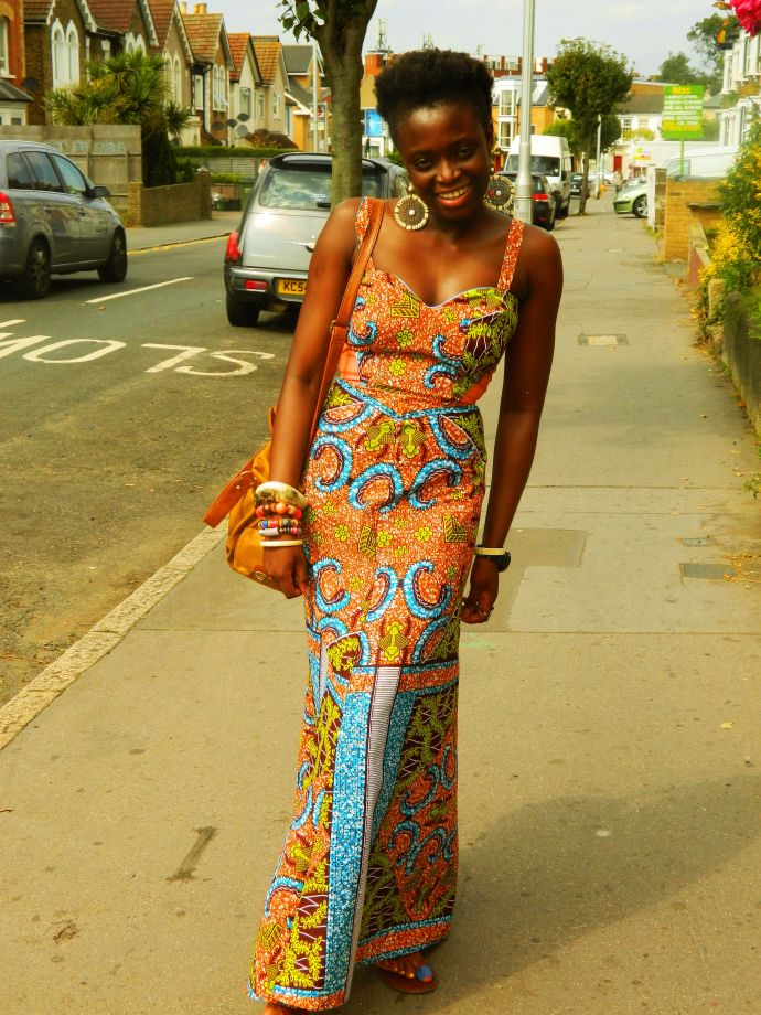 Maxi African Fashion Dress And Skirts