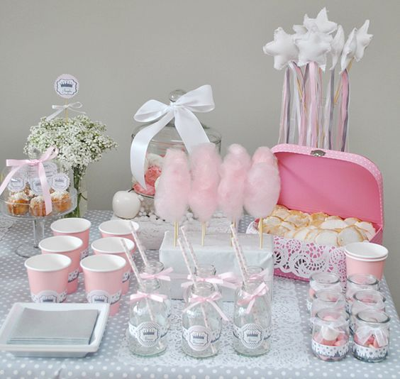 candy bar fille bapteme