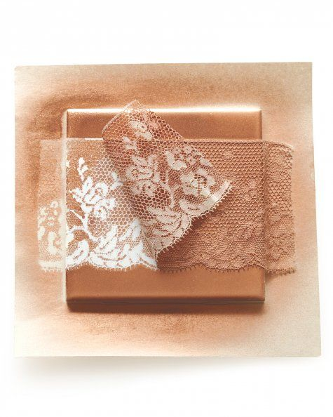 Lace tile ceramic wall tiles glazed ceramic and scrap for Plaster crafts to paint