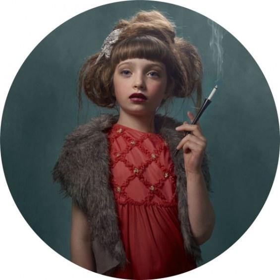 Frieke Janssens' Smoking Kids