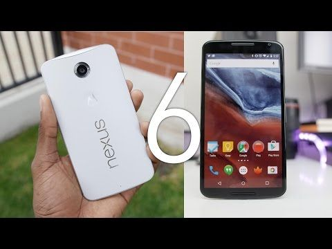 Google Nexus 6 Review! - by Marques Brownlee, aka MKBHD