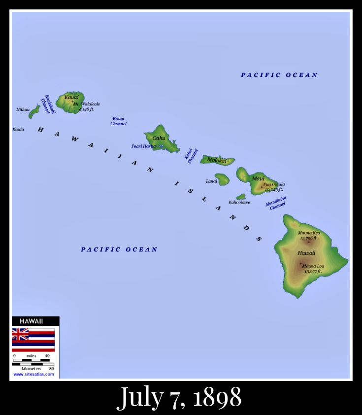 the united states annexation of hawaii essay No nation ever filed a protest with either hawaii or the us regarding either the  overthrow or the annexation, although japan used diplomatic and military.