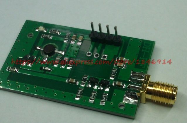 Radio frequency voltage controlled oscillator RF oscillator Frequency source broadband VCO 515MHz---1150MHz 515MHz-1150MHz