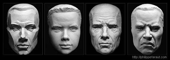 Aulas de anatomia nas esculturas de Philippe Faraut | THECAB - The Concept Art Blog | THECAB - The Concept Art Blog