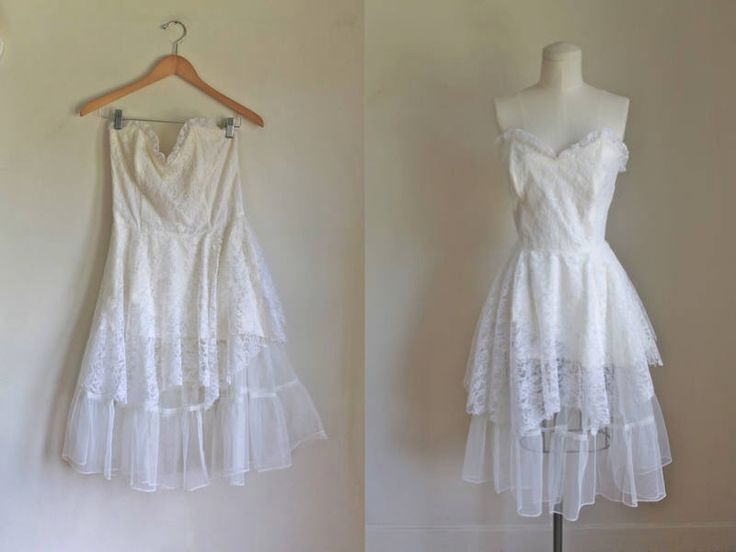 vintage 1980s wedding dress - GUNNE SAX 50s style party dress / S/M by MsTips on Etsy https://www.etsy.com/listing/527470366/vintage-1980s-wedding-dress-gunne-sax