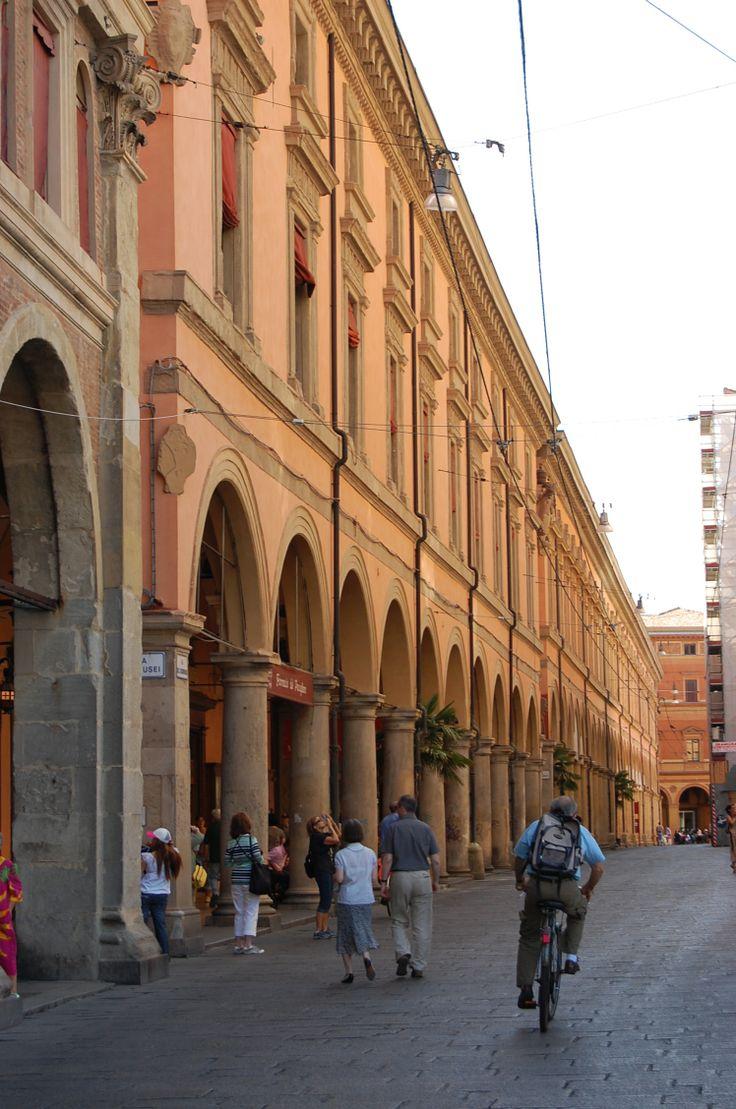 Bologna - Archiginnasio Portico