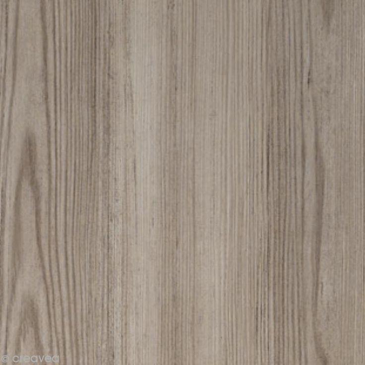 Adhésif Venilia Perfect - Pin Taupe - 200 x 45 cm