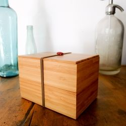 Bamboo Bento Box is a contemporary stack-able lunch box handmade in Kyoto. Using…