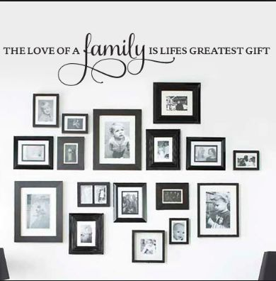 Kitchen Wall Word Saying N Picture Frames Kitchen Wall