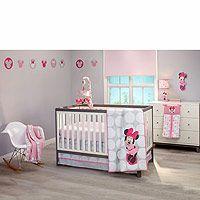 Disney Baby Minnie Mouse Polkadots 4 Piece Crib Set