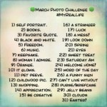 March Photo Challenge - #MyRealLife